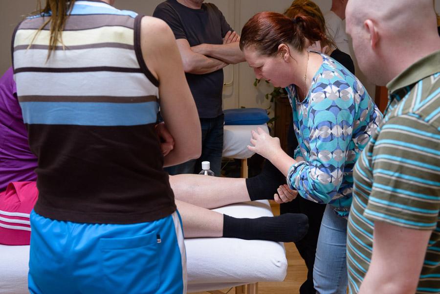 Massage oefenavond