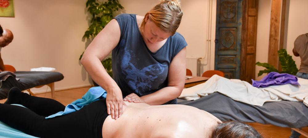 massage, masseren, workshop massage, massageopleiding, cursus massage